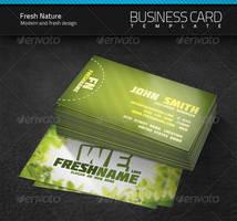 Fresh Nature Business Card by artnook