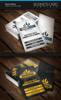 Stylish Metal Business Card