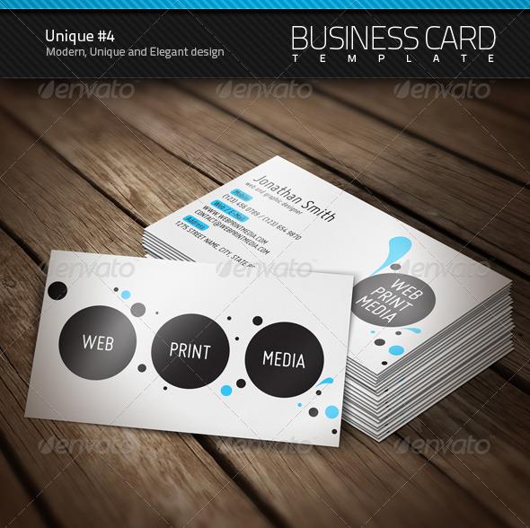 Unique Business Card 4