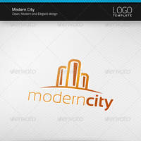Modern City Logo by artnook