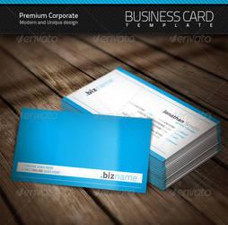 Premium Corporate Business Card by artnook
