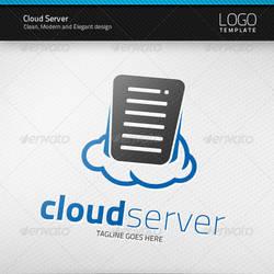 Cloud Server Logo by artnook