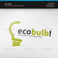 Eco Bulb Logo by artnook