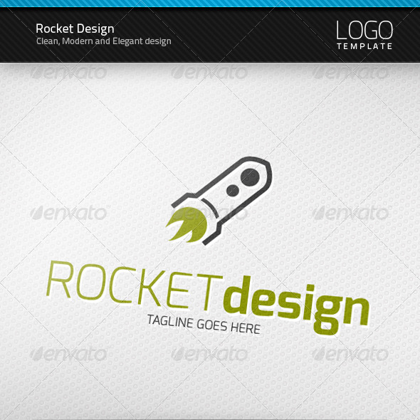 Rocket Design Logo by artnook