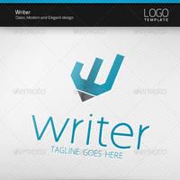Writer Logo by artnook