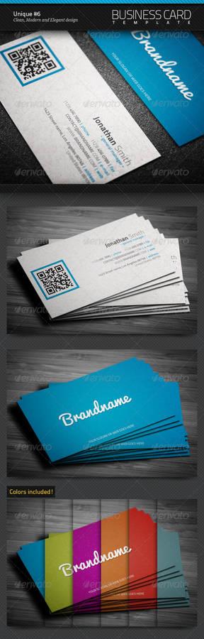 Unique Business Card 6