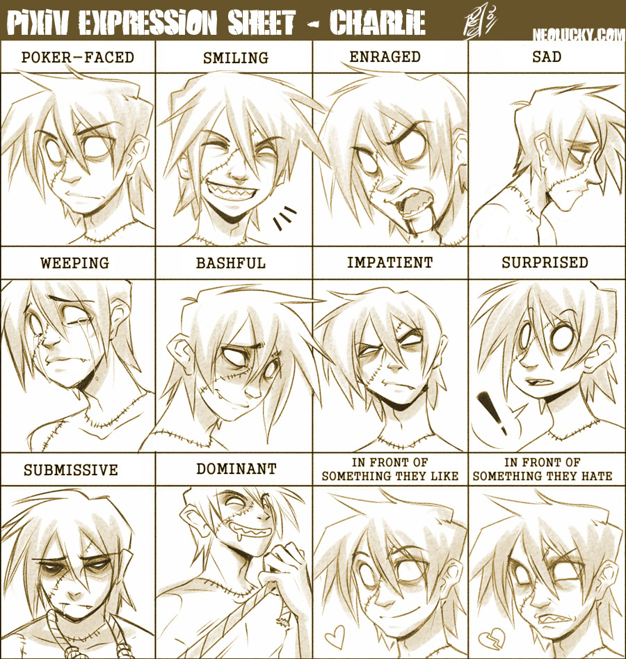 Pixiv Expression - Charlie by Neolucky