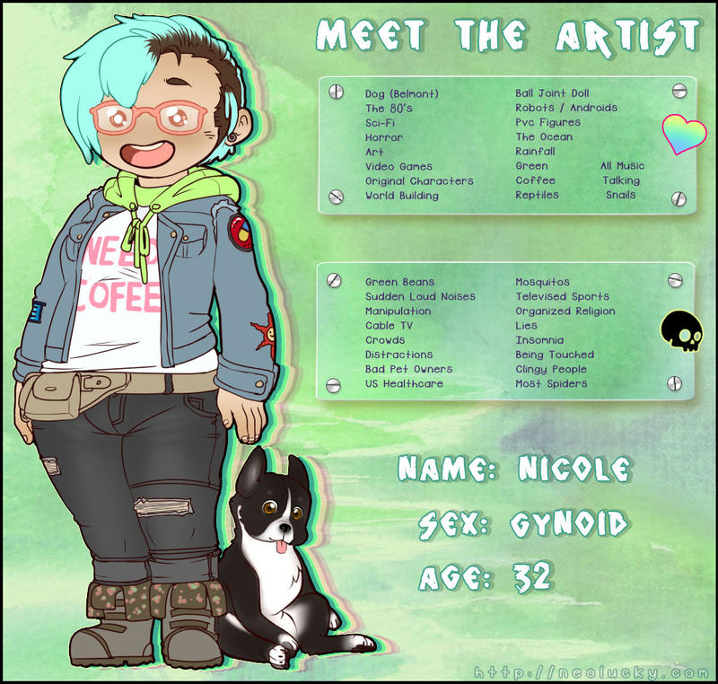 Meet the Artist by Neolucky