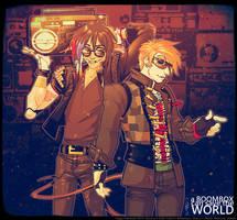Boombox Halloween 2015 by Neolucky