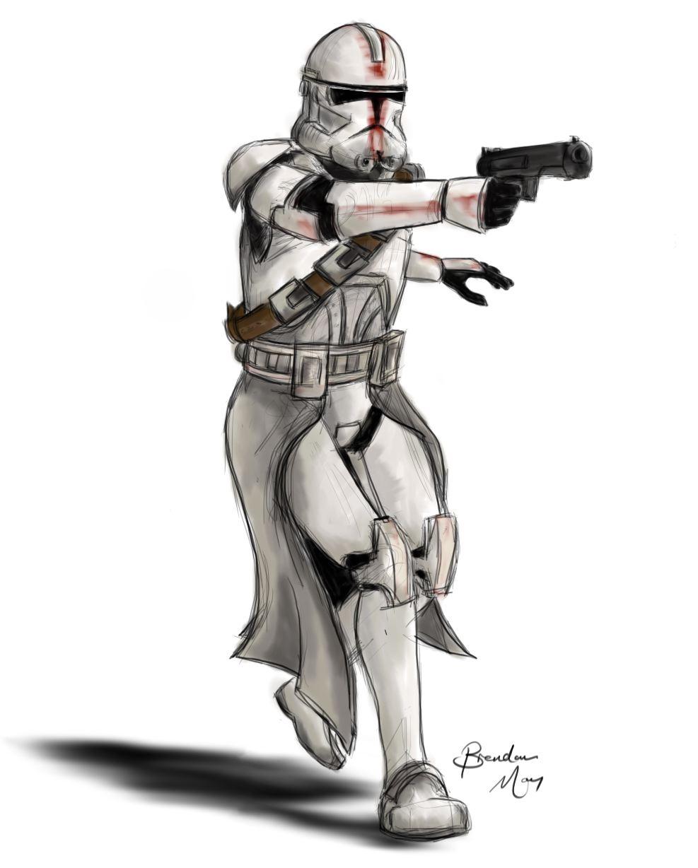 Phase II Clone Trooper by MakeNoiseMan on DeviantArt