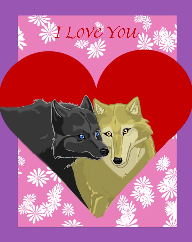 Wolf's Rain Valentine by 0Ash0