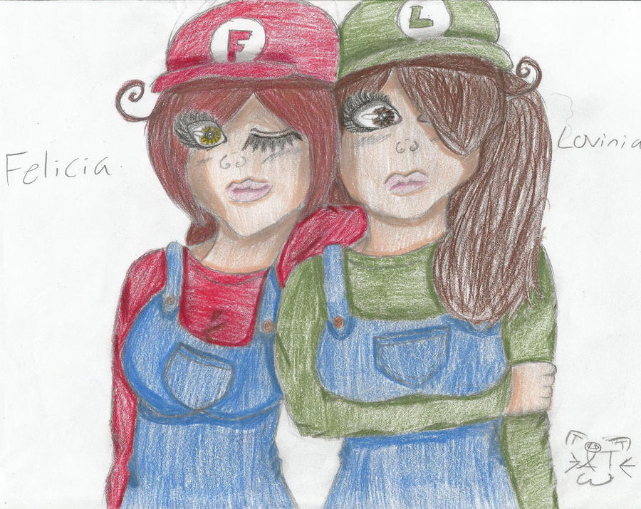 Super Italy Sisters! by LoveKittenRawr