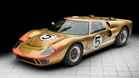 Historic 1966 Ford GT40 Could Bring $12M by themotormasters