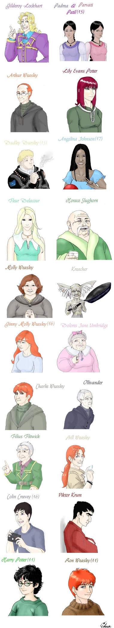 HP portraits-2. by Aedua