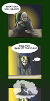 HP-Draco loves animals by Aedua
