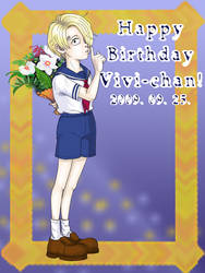OP- Happy Birthday Vivi-chan