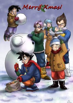 DBZ- Merry Xmas