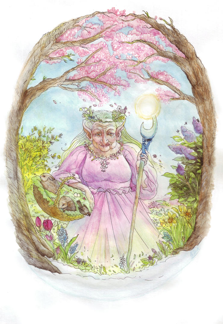 Spring Granny by Aedua