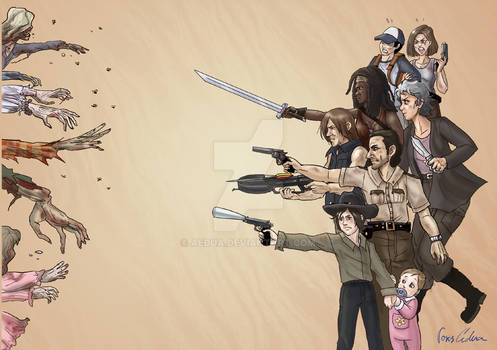 Walking Dead fanart