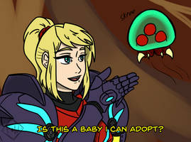 Metroid - Is This a Baby I Can Adopt?