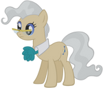 Mayor Pony Vector