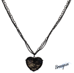 Lace Heart Necklace Stock png