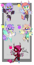 Reglins Adopts 2 (CLOSED) by MonstrousAdopts