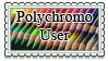 Polychromos Stamp by Styxeria
