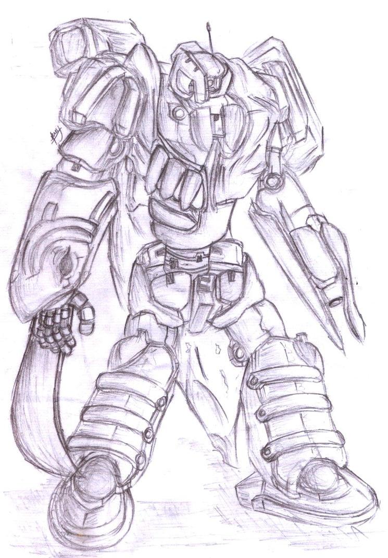 Comm : Monster Mecha by AntRiku