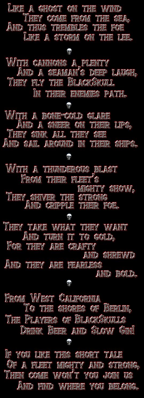 fleet poem