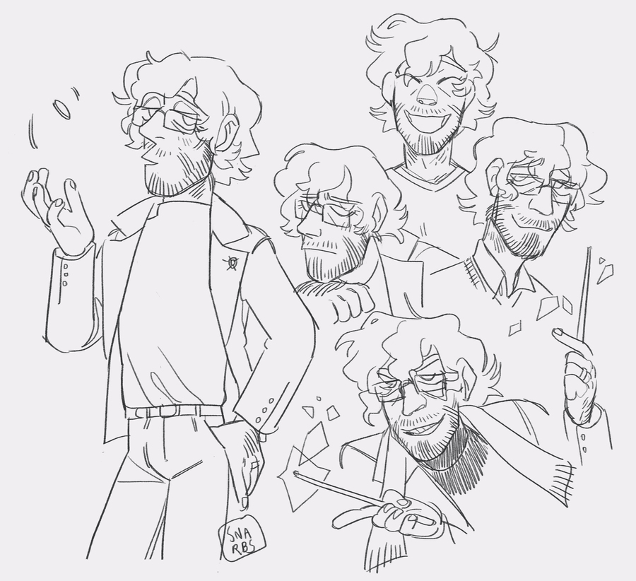 physics dad by snarbs