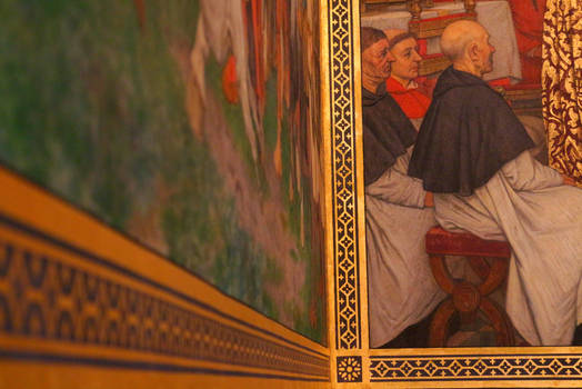 Medieval Painting - Detail