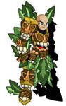 Tiki Knight Armor by teamlpsandacnl