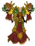 Celestial Tiki Guardian Mage by teamlpsandacnl