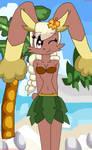 Sexy Hula Dancer Lopunny!!!! by teamlpsandacnl