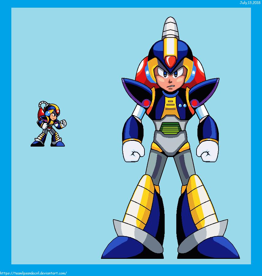 Megaman X Model Chill Penguin by teamlpsandacnl
