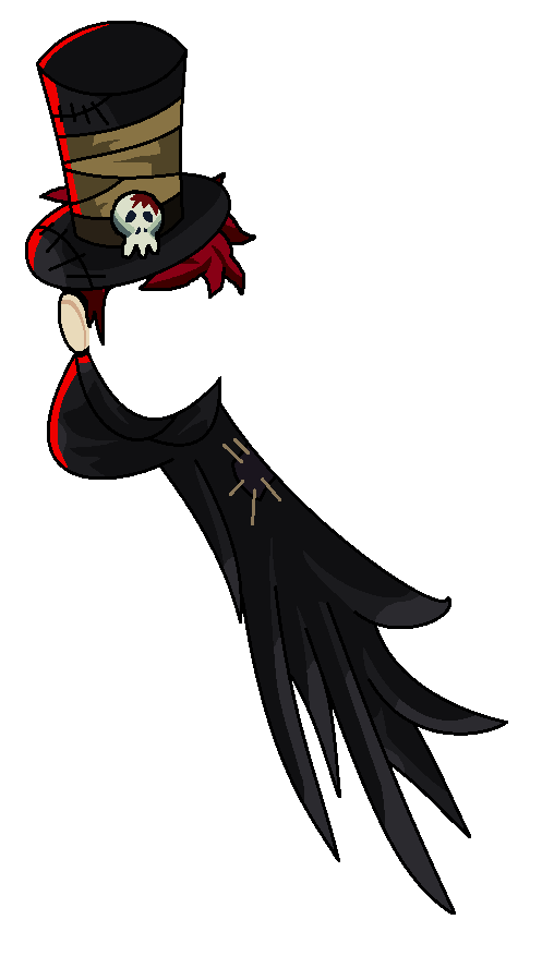 Graveyard Caster Top Hat Scraf by teamlpsandacnl