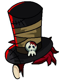 Graveyard Caster Top Hat by teamlpsandacnl