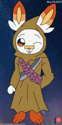 Scorbunny as Jawas! by teamlpsandacnl