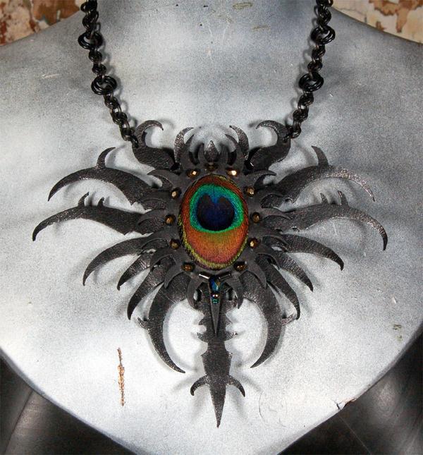 Alazaion necklace by MidnightZodiac