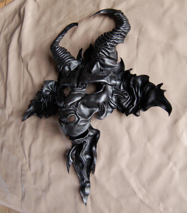 Baphomet Goat Leather Mask By MidnightZodiac On DeviantArt