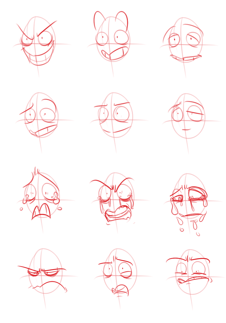 Emotion Practice by Rascal-Rose