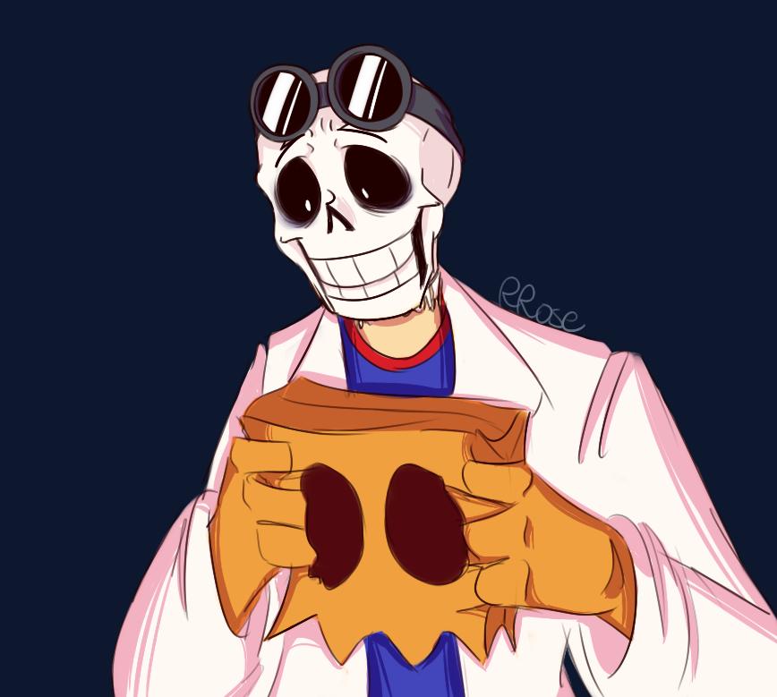 Dr Skeleton by Rascal-Rose