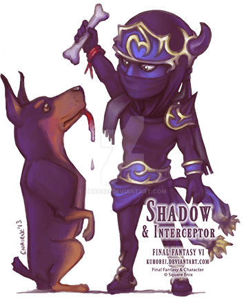 Shadow and Interceptor by kurobei