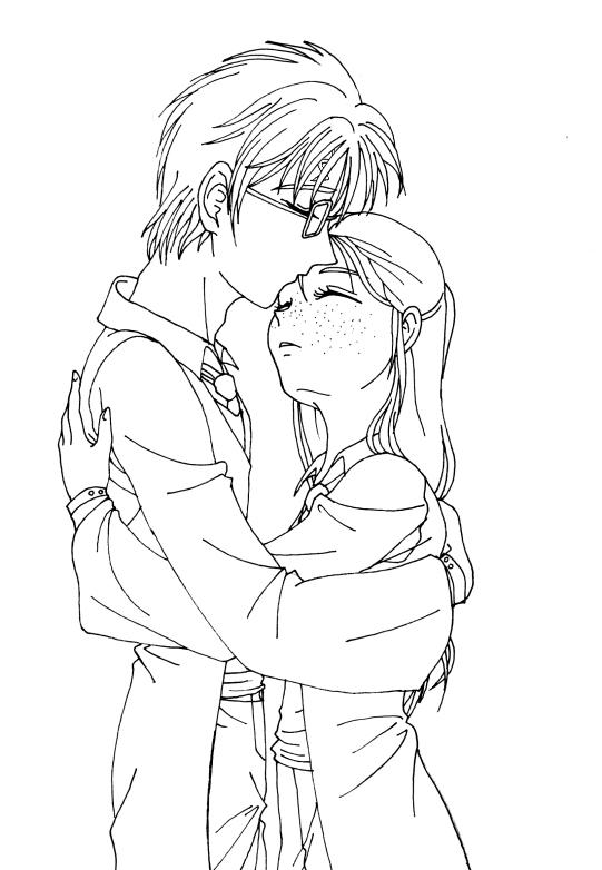 Thea supports Harry and Ginny by lilcyborg on DeviantArt
