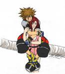 KHII: Sora and Kairi - WIP