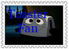 Toaster Stamp by NiftyNautilus