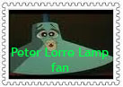 Peter Lorre Lamp Stamp by NiftyNautilus