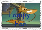 Lampy Stamp by NiftyNautilus