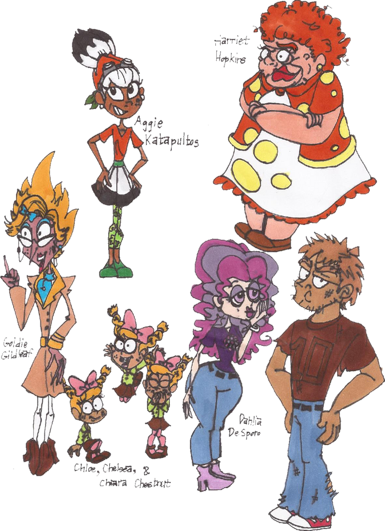 Plants vs Zombies Humanizations 7 by NiftyNautilus
